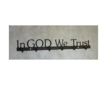 In GOD We Trust Key Rack