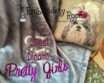 Dog Lover Blanket-Sweet Dreams-Sofa Sized
