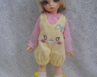 Super Dollfie Yo SD Littlefee Lovely Yellow Overalls Set