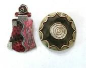 Destash two pendants