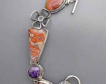Tepee Canyon Agate Bracelet