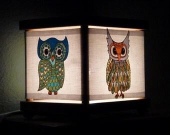 Owl Night Light Lamp Lighting Owls Birds