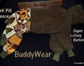 "18""  Italian Greyhound BuddyWear fleece suit for Italian Greyhounds and similar structured dogs... Ready to ship"