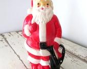 Vintage Lighted Santa Blowmold