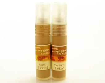Tinted Moisturizer, Samples, Light and Medium, Tinted Face Cream, Face Cream, Tinted Face Moisturizer, Face Lotion, Facial Moisturizer