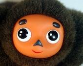 Cheburashka - Soviet Russian folk doll. 22x18x8 cm