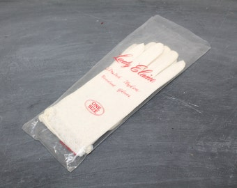 Vintage Lady Elaine Beaded Gloves