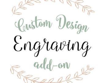 Custom Add-On Engraving for Silverware
