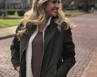 Women's Boston Flight Jacket