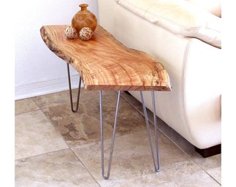 Live Edge table tops - 2, for coffee or end tables, beautiful Chinaberry wood