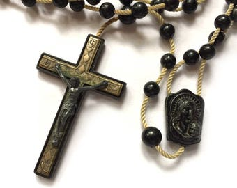 Vintage Old Fisherman's Nautical Rosary from Italy