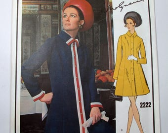 "Antique Molyneux Vogue Paris Original Pattern #2222 - size 34"" Bust"