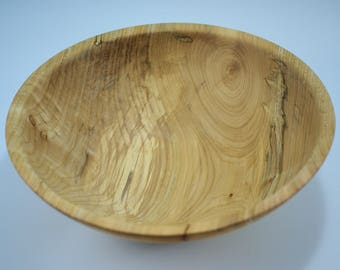 Wooden Salad Bowl Hand Made from Oregon Maple, B2844