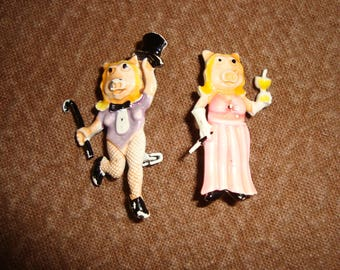 Miss Piggy pins