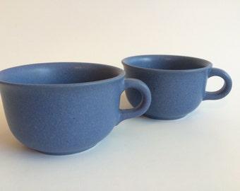 Blue Dansk Cups