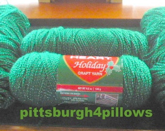 New Listing -Red Heart - Holiday Gr. - 1 Full Others Part- Only Charged For 3 - Price Is For All - 15 Oz Total - Color 3002 - Dye Lot 1610 -