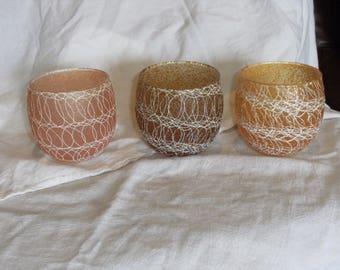 Vintage Spagettiware Glasses