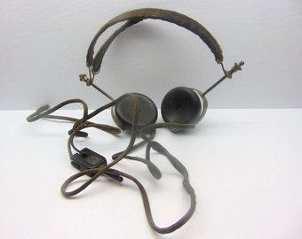 Vintage Brandes Superior Matched Tone  Radio Headset