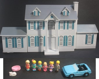 My Pretty Dollhouse Happy Heart Mansion Deluxe '94