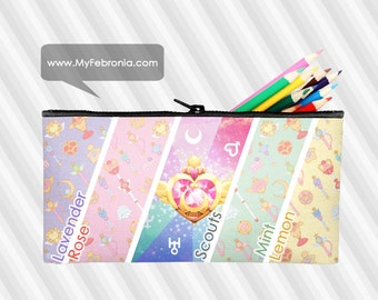 Sailor Moon Pencil Pouch Cosmetic Bag