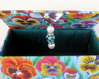 Handmade storage boxes, keepsake box, gift box, jewelry box