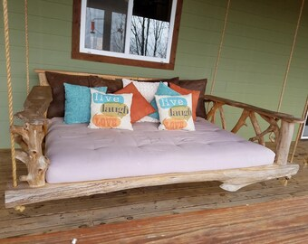 Oversize Cedar Porch Swing-Twin