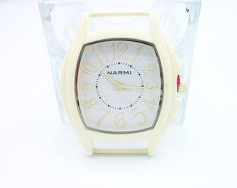 Ribbon Watch Face - Cream