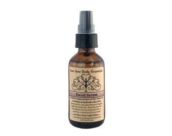 Organic Facial Serum, calendula, natural facial care, facial oil, facial miosturizer,