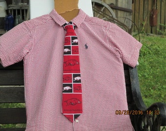 Arkansas Razorbacks Necktie