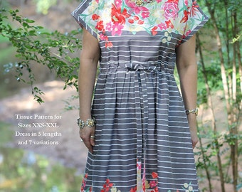 Heidi Dress Pattern by Serendipity Studio