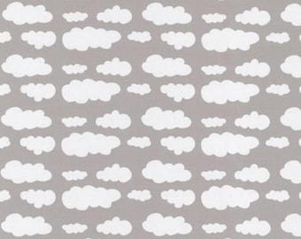 Cloud jersey, clouds, bright jersey, Light grey cloud jersey, cloud jersey,  light grey,gray cloud knit