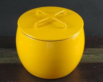 Dansk Yellow Kobenstyle Covered Bean Pot, France