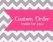 Custom Order for A. Pritts - Navy Sunflower Dress