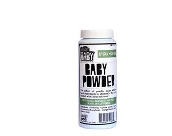Soft, natural baby powder