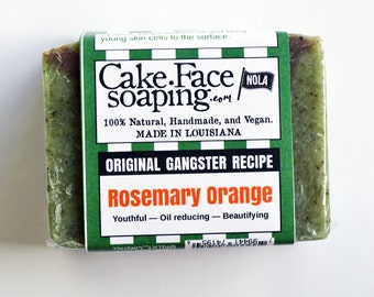 Rosemary Orange skin brightening soap bar