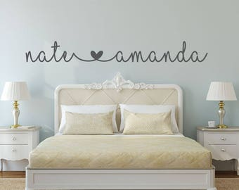 Ordinaire Name Decal   Name Stickers   Bedroom Wall Decal   Bedroom Decor   Bedroom  Wall Decor