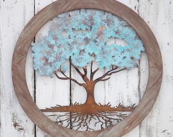 Tree Of Life Wall Decor,Tree Of Life Wall Art,Metal Wall Decor,