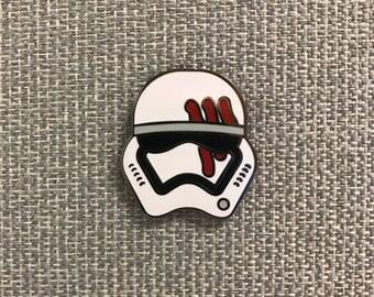 """Star Wars Stormtrooper Finn FN-2187 Enamel Pin ( 1"""" hard enamel lapel pin or hat pin )"""