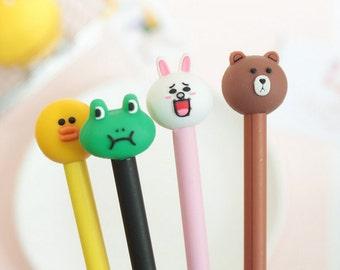 Cute Cartoon Gel Ink Pen - Gel Ink Pen  - Kawaii Pen