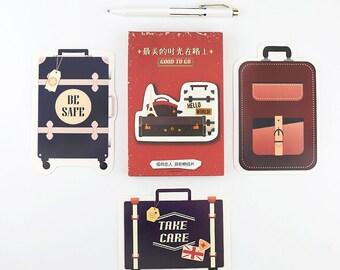 30 Pcs Travel Card - Die Cut Cardstock Scrapbook Embellishment