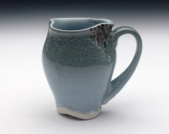 Grey and Light Blue Mug