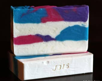 Saved By Grace Handcrafted Soap - Honeysuckle Blend with Jasmine, Rose & Lilac Scented - Christian Soap Made in Minnesota