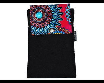 Tribal Twill Zipper Cell Phone Holder, Wallet, iPhone Case, Samsung Case, Droid, Phone Case
