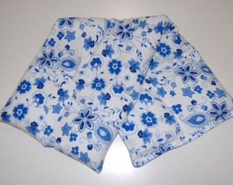 Rice Heating Pad / Ice Pack Medium, China Blue Floral