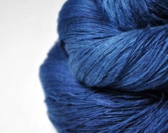 Ground sapphire - Merino/Cashmere Fine Lace Yarn