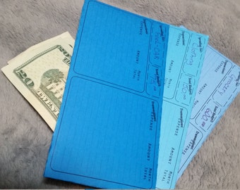 Printable Cash Envelopes for budgeting & Savings, Inspired by Dave Ramsey's Envelope System