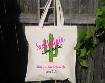 Scottsdale Bachelorette Party, Scottsdale Bach, Bachelorette Gift Bag, Scottsdale Arizona, Bridal Party Gift Bag