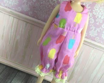 Blythe Romper - Pink  Popsicles and Icecreams