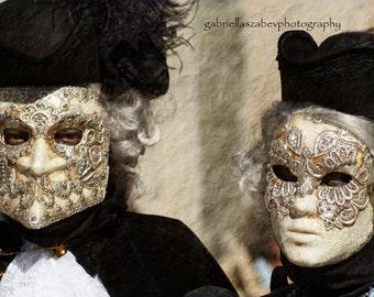 "Carnival of Venice, Mask Photos, Venice Photography, Italy Photography, Travel Photography - ""Carnevale di Venezia XV"""