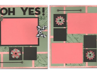 12x12 2pg. Layout - Oh Yes